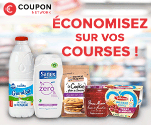 Coupon Network reductions supermarché