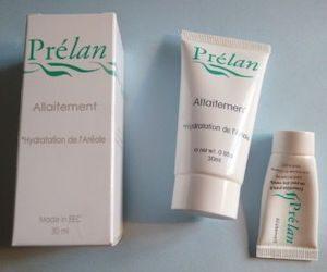 crème prélat allaitement