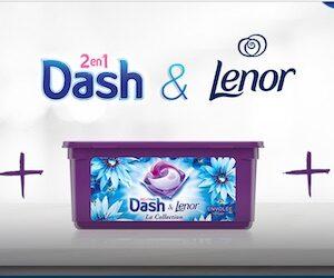 lessive dash lenor