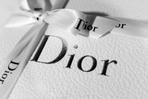 Coffret de la marque Dior