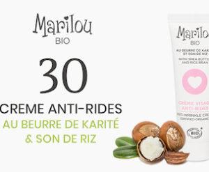 creme anti rides Marilou bio