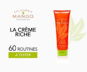 crème riche California mango