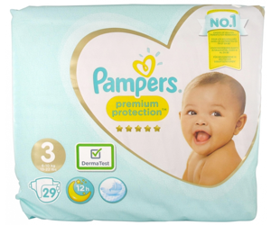 couches pampers premium protection