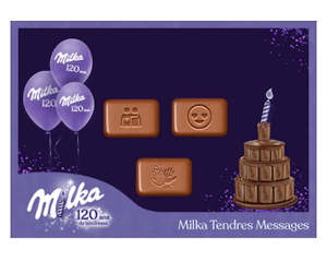 tendres messages milka