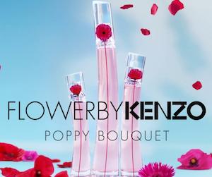 parfum flowers by Kenzo poppy bouquet