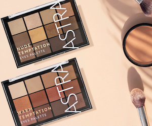 palette maquillage temptation Astra Make-up