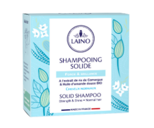 shampooing solide laino