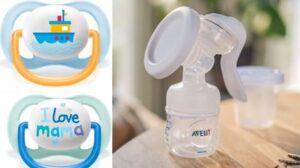 Tire-lait manuel et Sucette Ultra Air Philips Avent