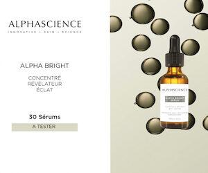 sérum alpha bright alphascience