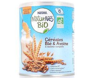 Céréales Naturnes Bio de Nestlé Bébé