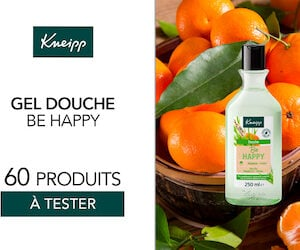 gel douche be happy kneipp
