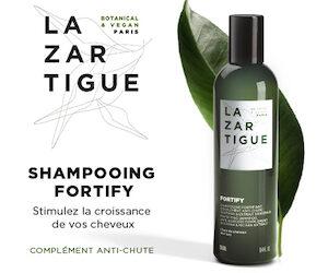 shampooing fortify de Lazartigue