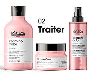 routine L'Oréal Vitamino Color