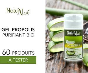 gel propolis purifiant bio Naturaloé