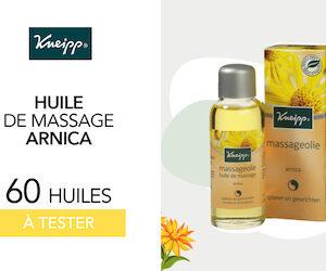 Kneipp huile de massage arnica