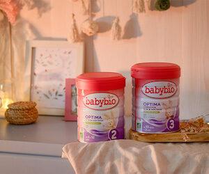lait infantile Optima Babybio Optima Croissance