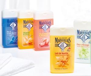 gels douches le petit marseillais
