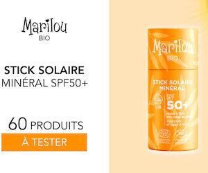 stick solaire minéral marilou bio