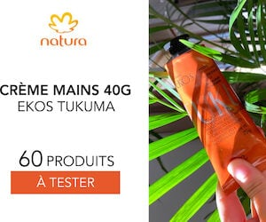 Crème Mains Ekos Tukumã de Natura