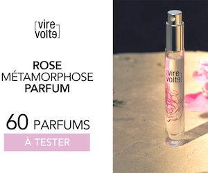 parfum rose métamorphose virevolte