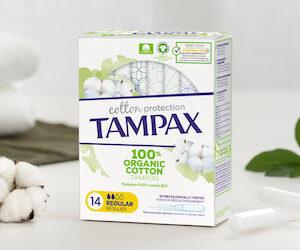 tampons coton tampax