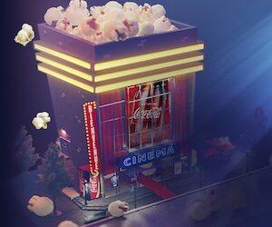 jeu cinéma coca cola