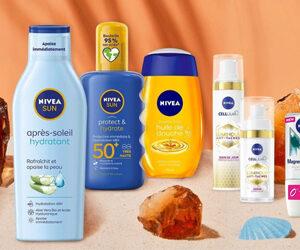 produits nivea pour l'été