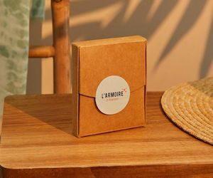 box échantillons armoire à beauté