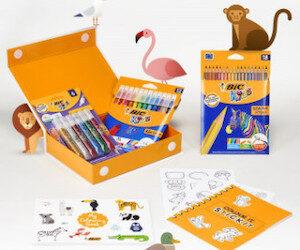 kit coloriage Bic