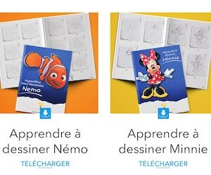 livre de dessins Disney