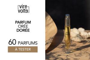 parfum orée dorée de virevolte