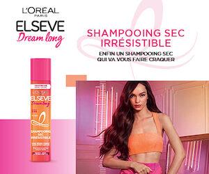 Shampooing Sec Irrésistible - Elseve Dream Long de L'Oréal Paris