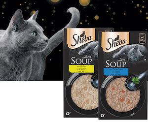 soupe pour chat sheba