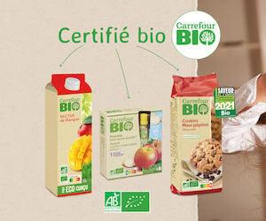 produits carrefour bio