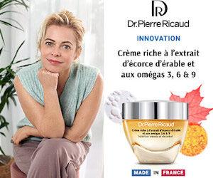 Crème riche à l'extrait d'écorce d'érable et omégas 3,6 & 9 de Dr.Pierre Ricaud