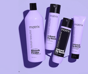 routine unbreak my blonde de matrix