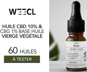 huile cbd cbg weecl
